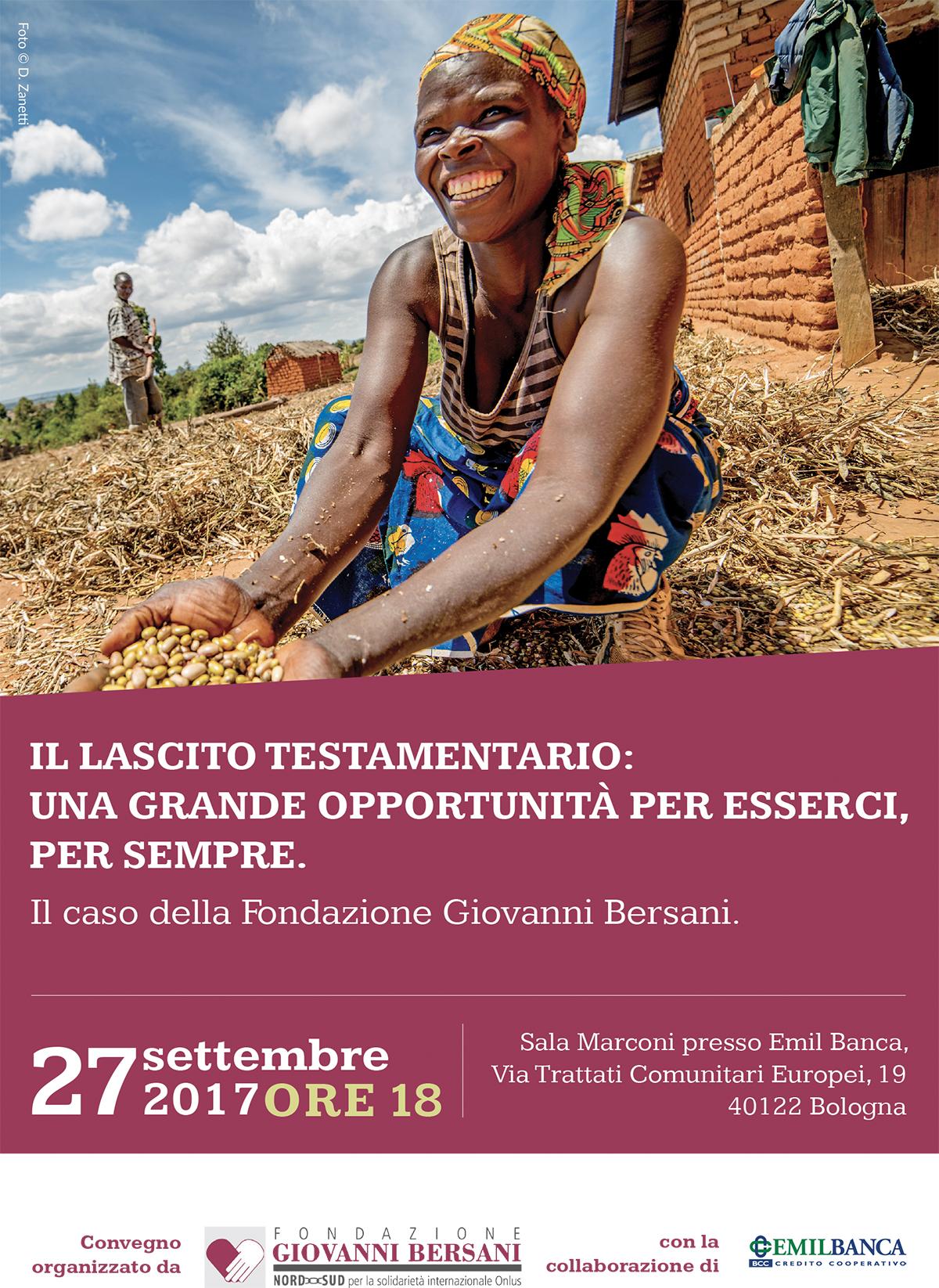 Convegno lasciti Fondazione Bersani
